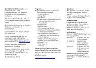 Flyer Bibliothek - Schule Wilderswil