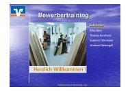 Präsentation Lebenslauf - Arbeitskreis Schulewirtschaft-Bayern