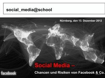 Social Media - Arbeitskreis Schulewirtschaft-Bayern