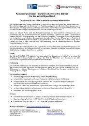 Das Wirtschaftsvolontariat - Arbeitskreis Schulewirtschaft-Bayern