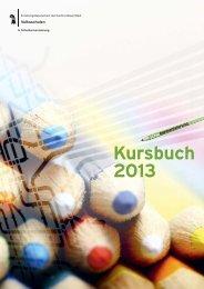 Kursbuch 2013 - Schulharmonisierung