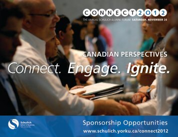 our sponsorship portfolio - Schulich School of Business - York ...