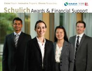Awards and Financial Support - Schulich School of Business - York ...