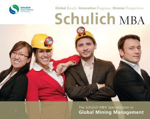 Schulich MBA - Schulich School of Business - York University