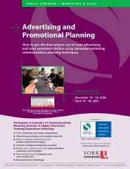 Advertising and Promotional Planning - Schulich School of Business ...