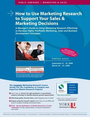 E-Marketing & E-Commerce MASTER - Schulich School of Business ...