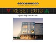 Sponsorship Opportunities ONNECT 2 OO 9 C - Schulich School of ...