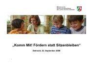 Vortrag von Herrn Dr. Michael Gasse, MSW - Schulinfos