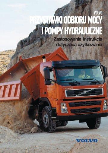 PRZYSTAWKI ODBIORU MOCY I POMPY HYDRAULICZNE - Volvo