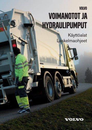 VOIMANOTOT JA HYDRAULIPUMPUT - Volvo
