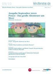 Ponyo - Das große Abenteuer am Meer - SCHULKINO.at