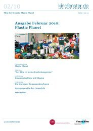 Ausgabe Februar 2010: Plastic Planet - SCHULKINO.at
