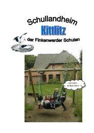 Info-Mappe Schullandheim Kittlitz
