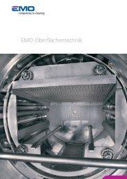 EMO OT Imageprospekt (PDF) - EMO Oberflächentechnik