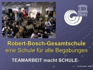 1. Robert-Bosch-Gesamtschule Hildesheim - Schulleitungssymposium