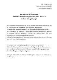Merkblatt für die Anmeldung zur Ersten Staatsprüfung (mündlich ...