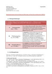 Julia Mayer (Stand 07 2012) - Lehrstuhl für Schulpädagogik ...