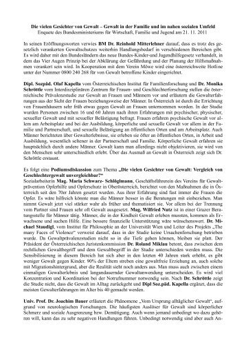 Die vielen Gesichter von Gewalt – Gewalt in der ... - schulpartner.info