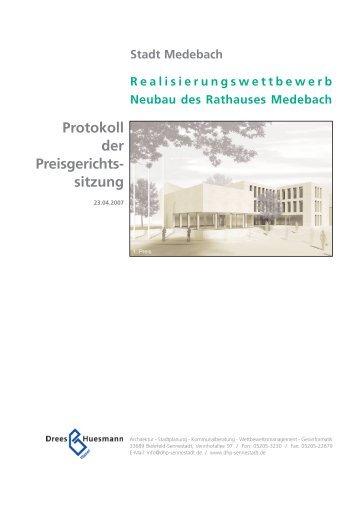 Protokoll der Preisgerichts sitzung - Dhp-sennestadt.de
