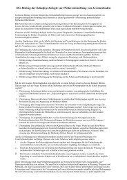 Lese-Rechtschreib-Schwäche - Schulpsychologie