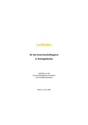 Leitfaden - APUG