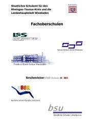 Staatliches Schulamt für den Rheingau-Taunus-Kreis und ... - Schule