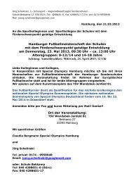 Regionalbeauftragter Sonderschulen - Schulsport-Hamburg.de