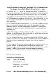 Bericht mit Ergebnissen (PDF, 36.31 kB) - Schulsport-Hamburg.de