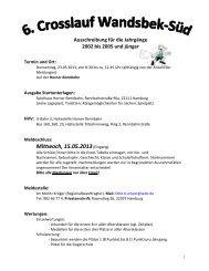Ausschreibung - Schulsport-Hamburg.de