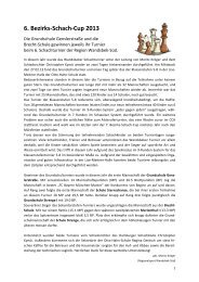Bericht 6.BezirksSchachCupFeb2013 - Schulsport-Hamburg.de