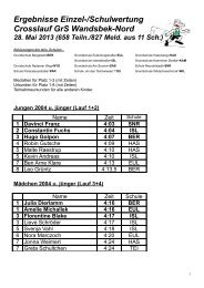Ergebnisliste (PDF, 137.42 kB) - Schulsport-Hamburg.de
