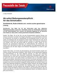 Rettungswestenpflicht beim Schulrudern - Schulsport-Hamburg.de