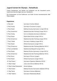 Ergebnisse des JtfO Bundesfinales - Schulsport-Hamburg.de
