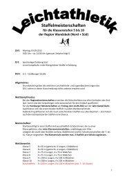 Staffelmeisterschaften - Schulsport-Hamburg.de