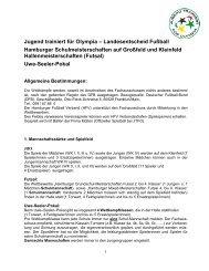 Hamburger Bestimmungen für J.t.f.O. - Schulsport-Hamburg.de