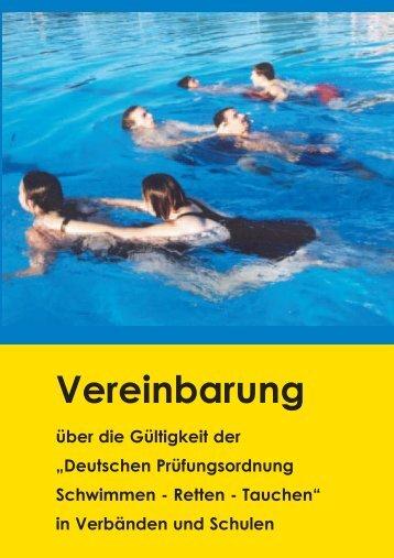 Vereinbarung - Stiftung Sport in der Schule in Baden-Württemberg