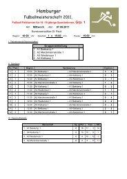 Ergebnisse Gruppe 1 - Schulsport-Hamburg.de