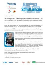 Hamburg Gymnastics Schulturncup 14. November 2012 - Schulsport ...