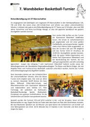 7. Wandsbeker Basketball-Turnier - Schulsport-Hamburg.de