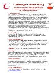 1 Hamburger Leichtathletiktag - Schulsport-Hamburg.de