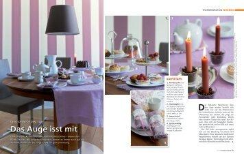Das Auge isst mit - Schulte Design GmbH