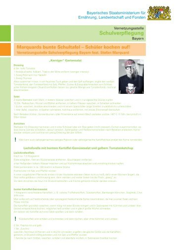 Marquards buntes Schülermenü zum Nachkochen (pdf)