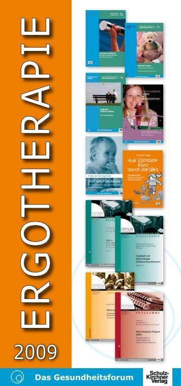 ergotherapie - Schulz-Kirchner Verlag