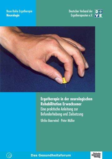 Ergotherapie in der neurologischen Rehabilitation Erwachsener ...
