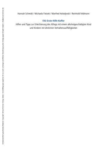 FAS-Erste-Hilfe-Koffer - Schulz-Kirchner Verlag