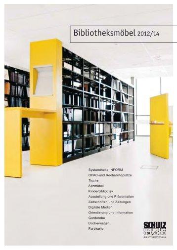 Bibliotheksmöbel 2012/14 - Schulz Speyer