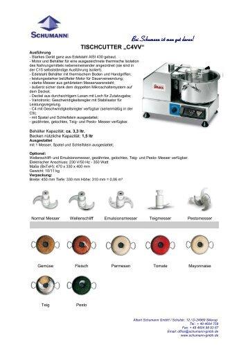 Prospekt - Schumann GmbH