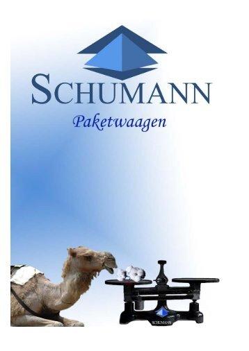 Prospekt Paketwaagen - Schumann GmbH