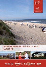FERIENWOHNUNGEN - Nordseetourismus
