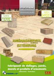 """Téléchargez le nouveau catalogue """"Aménagements ... - Perin & Cie"""